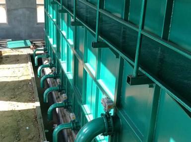 100吨每小时集成式水厂