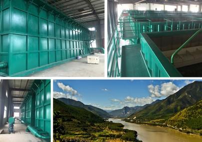 长江水处理一体化净水设备