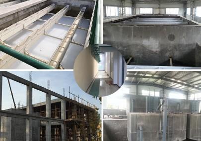 混凝土建设模式一体化净水设备